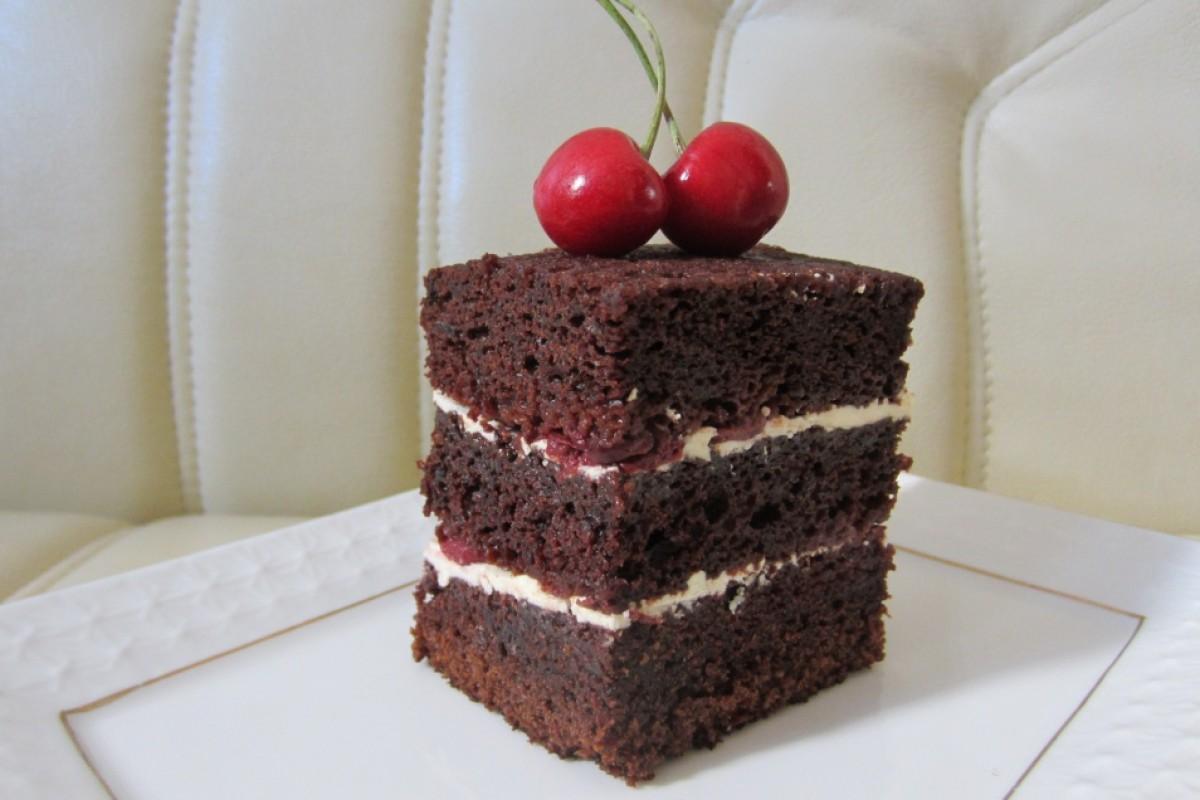 Крем шоколадный для торта сметана