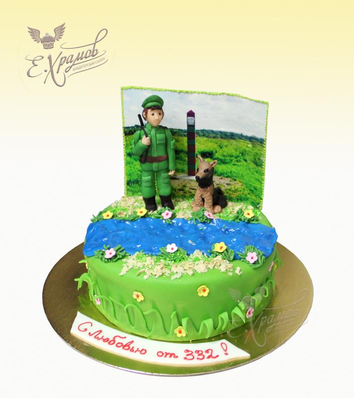 торт с пограничником картинки как определить