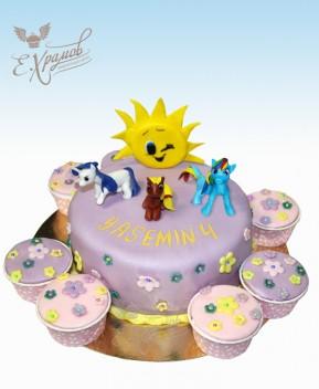 Детский торт Литл Пони