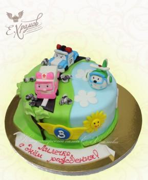 Торт Поли и друзья
