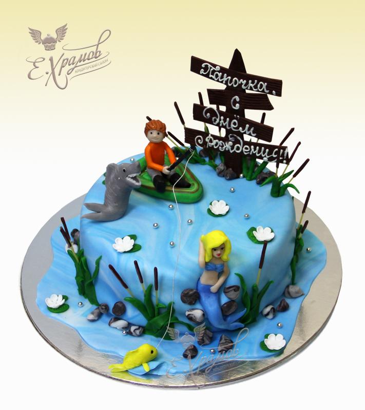 торт в рыбацком купить