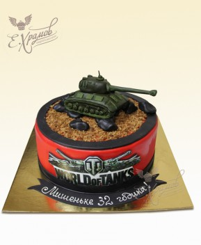 Торт по World of Tanks